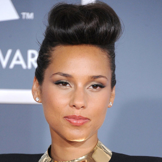 Get a Vintage Chic Updo Like Alicia Keys
