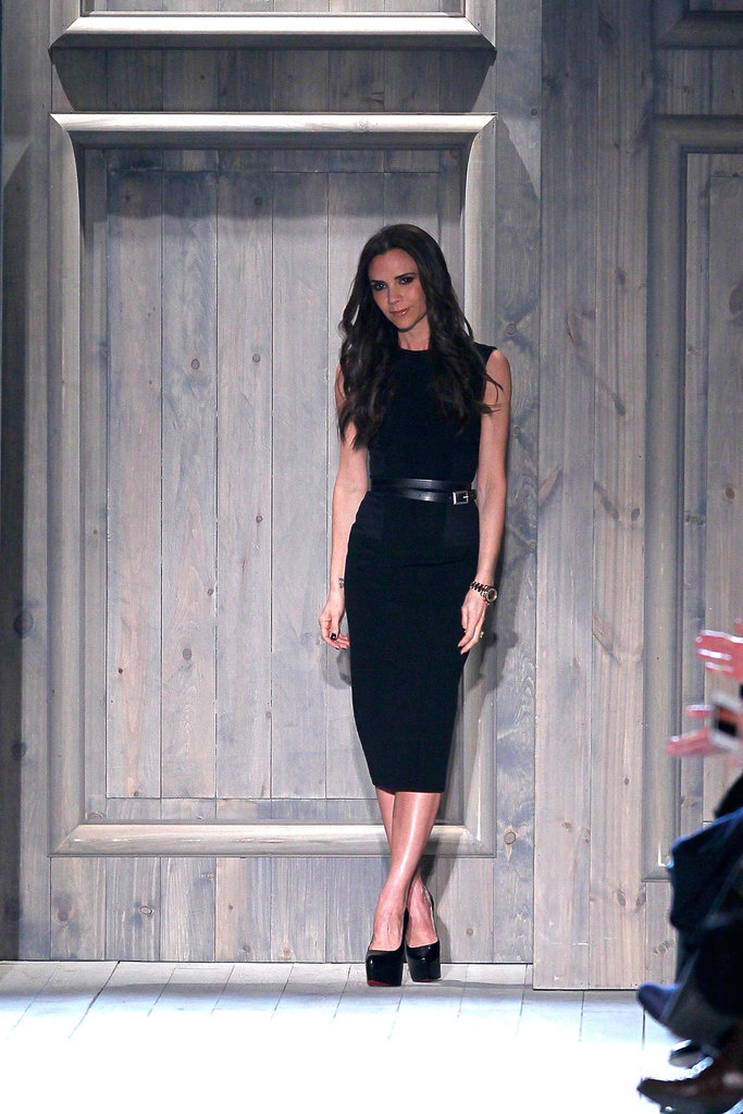 Victoria Beckham wrapped up her NYFW show.