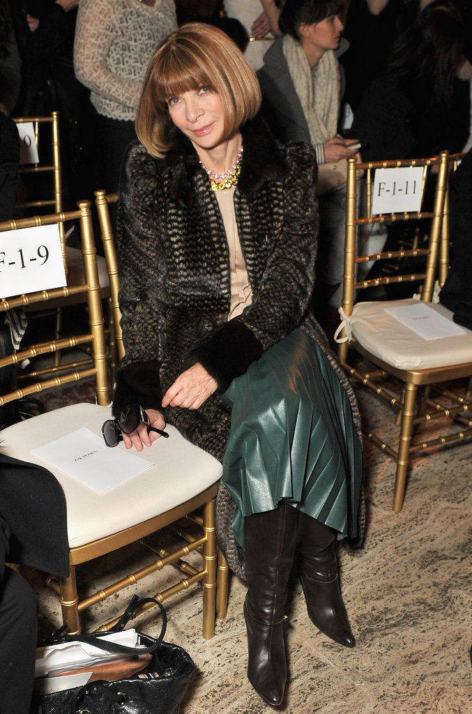 Anna Wintour went to Thakoon.