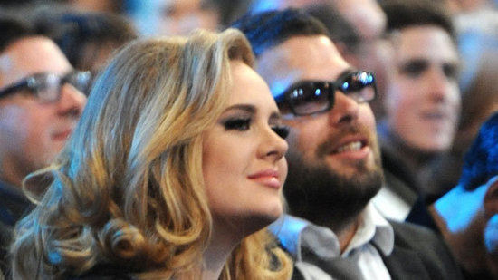 Video: Adele Goes Public With Boyfriend and Dominates the Grammys