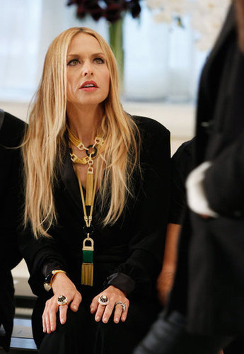 Rachel Zoe prepared her new designs.