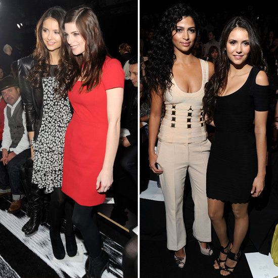 Nina Dobrev Joins Ashley Greene and Camila Alves For Fashion Week Fun