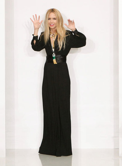 Rachel Zoe Sends Her Latest Collection Down the Fashion Week Runway