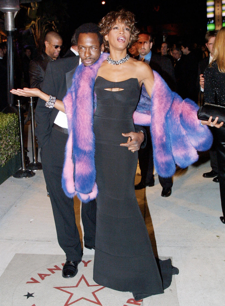 In 2001 at the Vanity Fair party.