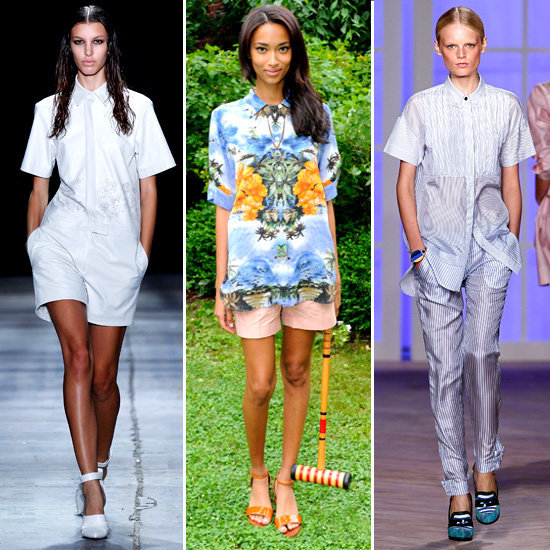Runway Inspiration: The Button-Up Blouse