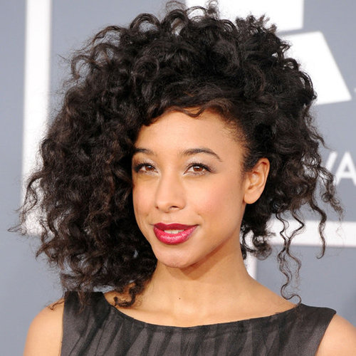 Corinne Bailey Rae's Hair and Makeup Look at the 2012 Grammy Awards