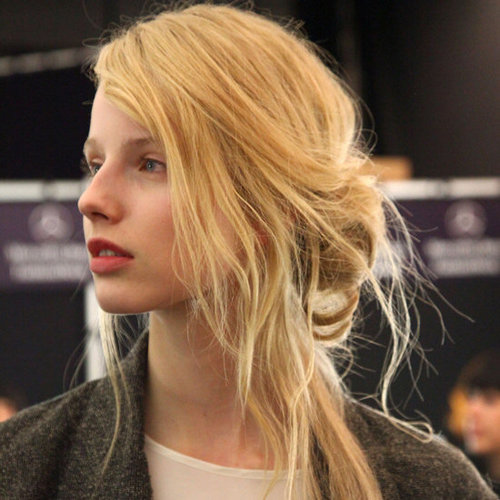 Rebecca Minkoff Fall 2012 Hair and Beauty