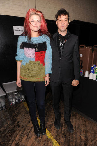Alison Mosshart and Jamie Hince went to NYFW.