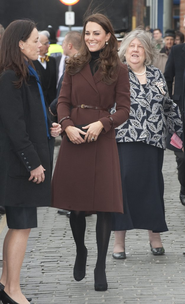 Kate Middleton's second-ever solo engagement was in Liverpool.
