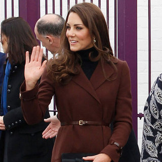Kate Middleton Pictures at The Brink in Liverpool