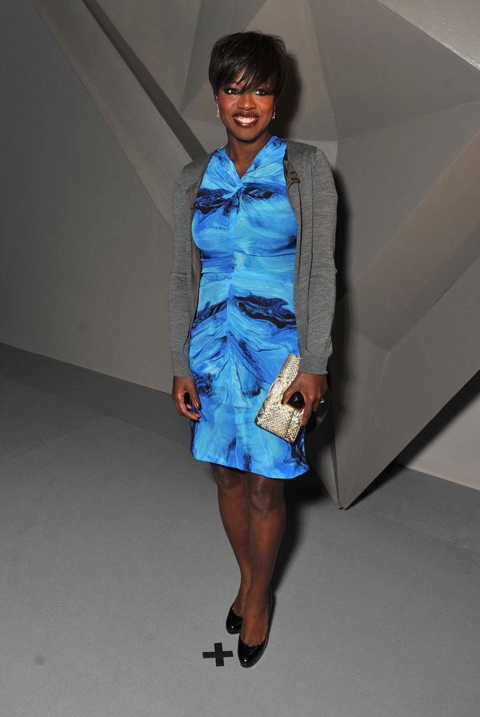 Viola Davis went to NYFW.