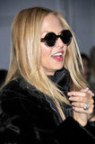 Rachel Zoe clapped in delight during Derek Lam's show.