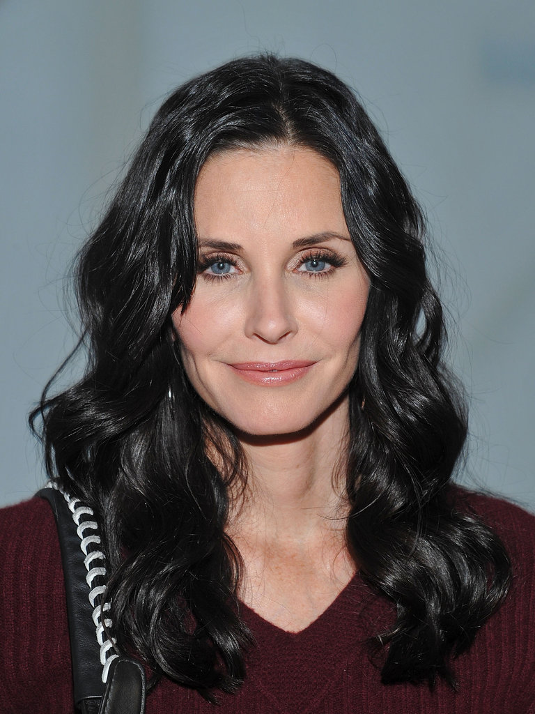 Courteney Cox went to NYFW.