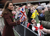 Kate Middleton visited a children's hospital in the UK.