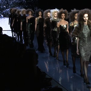 Badgley Mischka Fall 2012 Runway