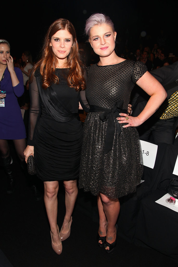 Kate Mara and Kelly Osbourne at Badgley Mischka