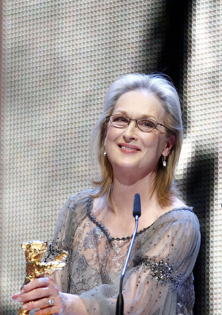 Meryl thanked her costars and gave a special shout-out to her makeup artist.