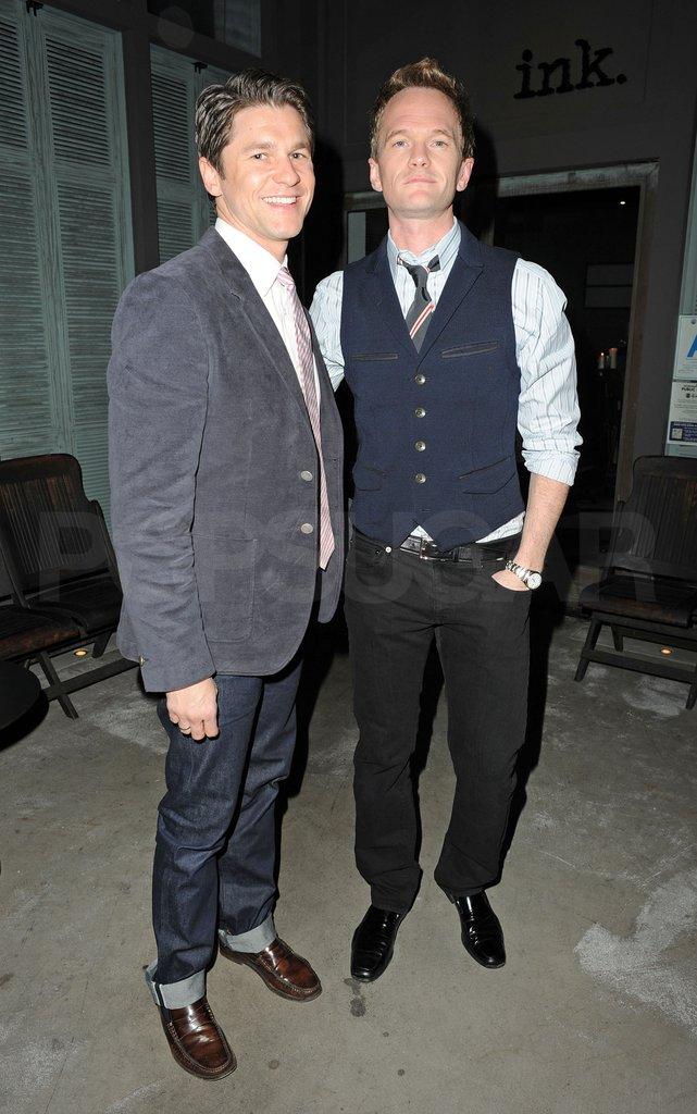 Neil Patrick Harris and David Burtka had a dinner date in LA.