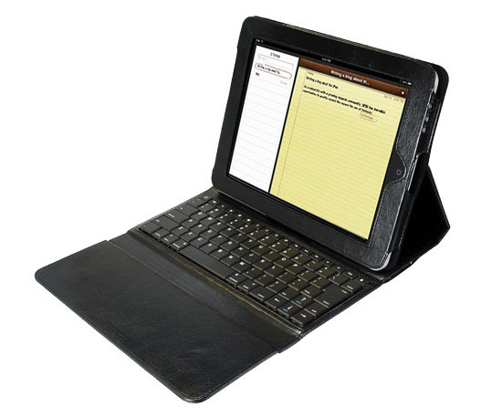 D-LUX Black Leather iPad 2 Case ($85)