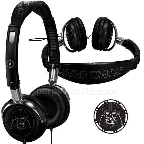 Darth Vader Fold-Up Headphones ($30)