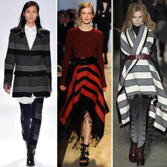 New York Fashion Week Trendspotting: Blanket Stripes