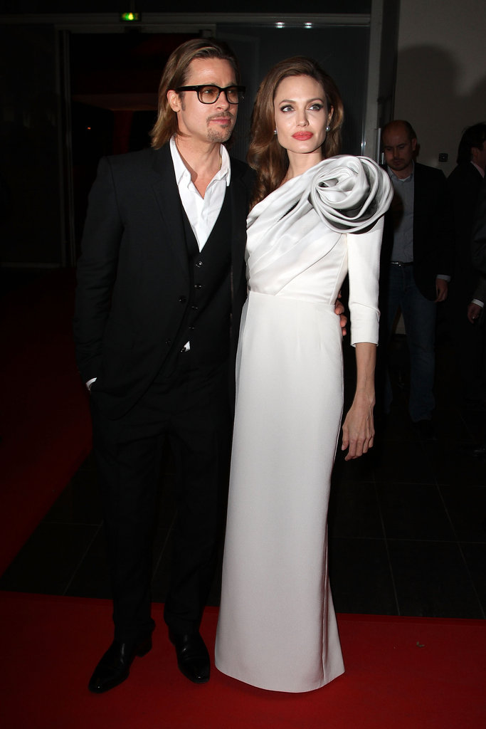 Angelina Jolie and Brad Pitt went to France for In the Land of Blood and Honey.
