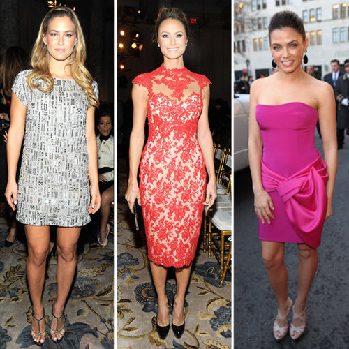Stacy Keibler, Jenna Dewan, Bar Refaeli at Marchesa Pictures