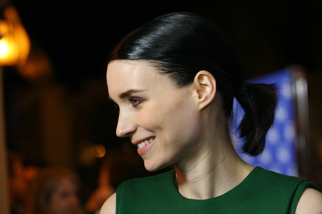 Rooney Mara smiled big at February's Santa Barbara Film Festival.