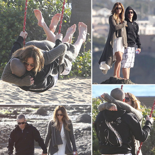 Jennifer Lopez and Casper Smart Valentine's PDA Pictures