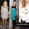 Celebrities Sit Front Row at 2012 Fall New York Fashion Week: Blake Lively, Jessica Alba and Olivia Palermo Attend the Final Day