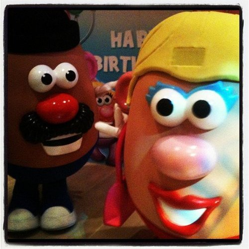 Mr. and Mrs. Potato Head