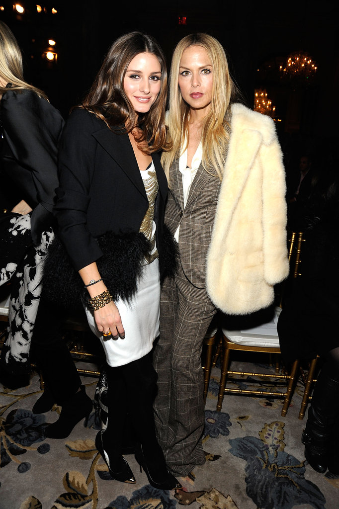 Olivia Palermo and Rachel Zoe at Marchesa