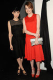 Rooney Mara and Emma Stone at Calvin Klein