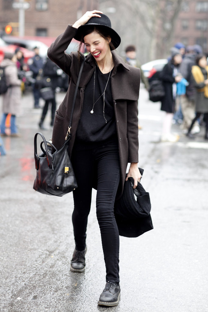 New York Fashion Week Fall 2012 Street Style