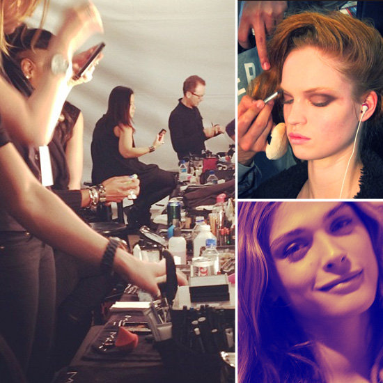 See Backstage Snaps From Fashion Week