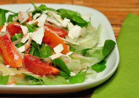 Arugula Salad With Blood Oranges