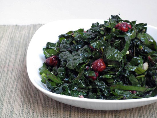 Kale and Chard Salad