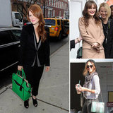 Celebrity It Bag Alert: 10 Gorgeous Green Bags to Get in on the Trend!