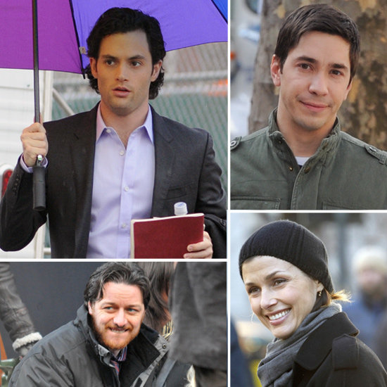 Penn Badgley, Justin Long, and More Stars on Set This Week!