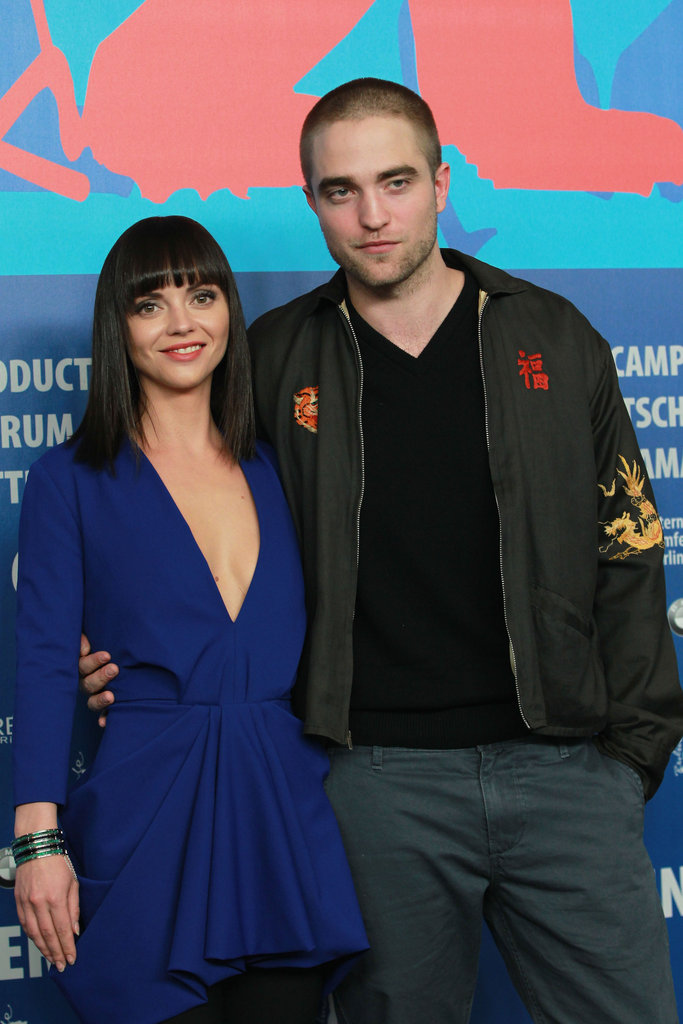 Robert Pattinson posed with Bel Ami costar Christina Ricci.