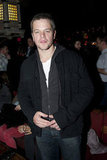 Matt Damon attended the NYFW Guns N' Roses show.