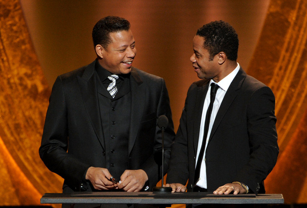 Terence Howard and Cuba Gooding Jr.