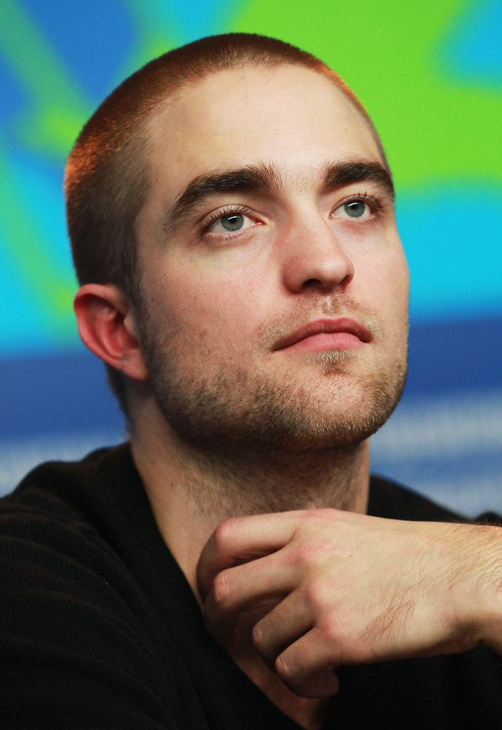 Robert Pattinson spoke in Berln.