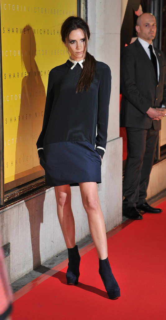 Victoria Beckham Pops Up in the UK For a Harvey Nichols Launch