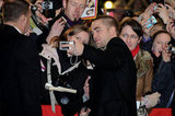 Rob held the camera for a fan.