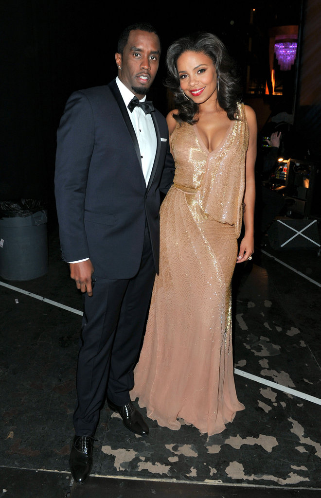 Diddy and Sanaa Lathan