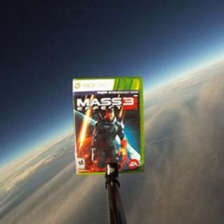 Mass Effect 3 Video Game in Space