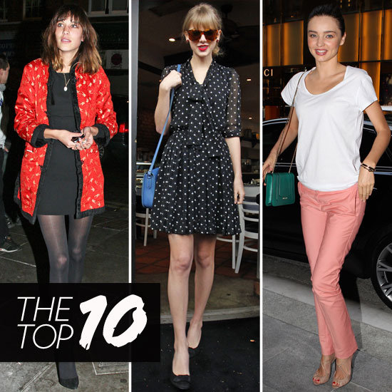 Fab's Top 10 Celebrity Looks of the Week — Miranda, Taylor, Alexa, and More!