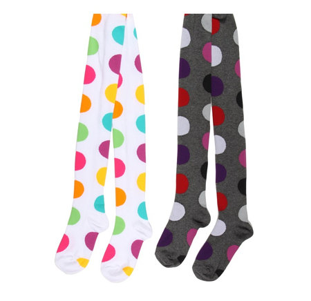Jefferies Socks Mega Dot Tights ($12)