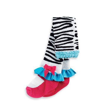 Mud Pie Zebra Tights ($15)